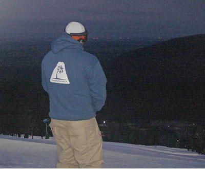 Snowboarding at Whitetail Resort