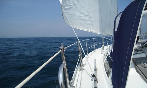Sailing Elk Rapids