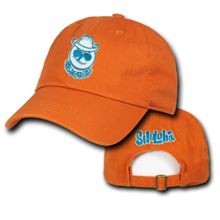Sunset Orange SnoMon Hat